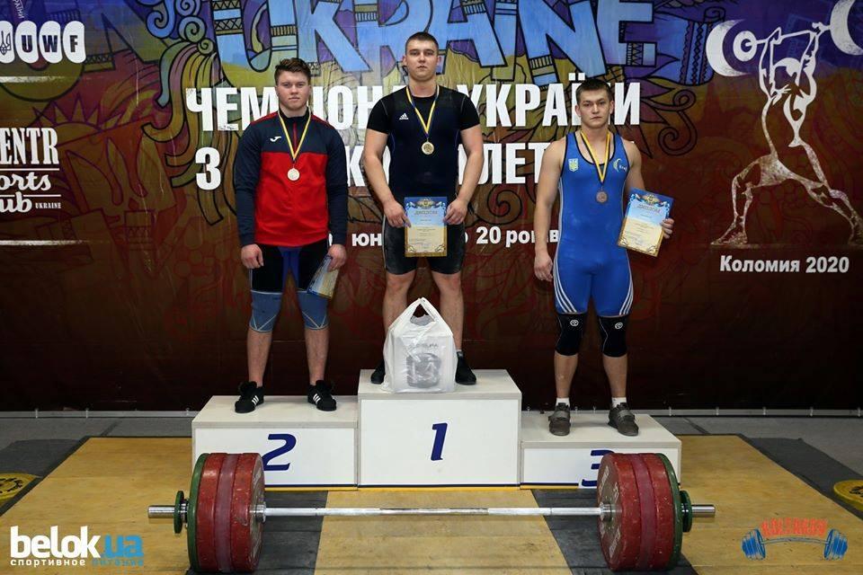 Харьковский тяжелоатлет выиграл чемпионат Украины