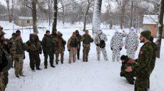 Канадские инструкторы обучают нацгвардейцев на Харьковщине (фото)