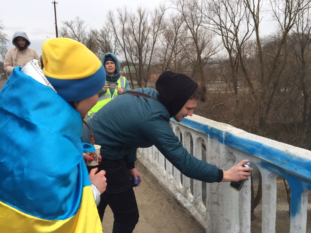 Харьков-Новые Санжары: автопробег активистов подошел к концу (фото, видео)