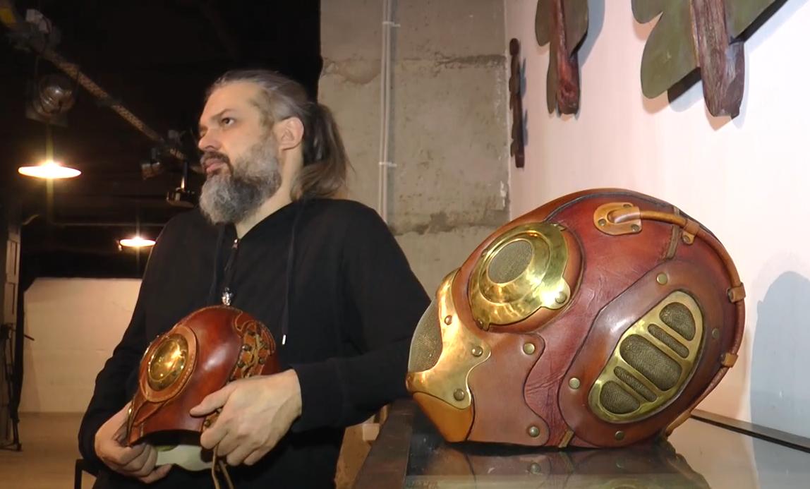 Харків'янин створює маски для всесвітньо відомих артистів (відео)