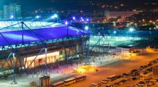 Будет запрещено движение транспорта возле стадиона «Металлист»