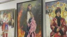 Портрети жінок у святковому вбранні: у Харкові відкрилась виставка присвячена народним гулянням (відео)