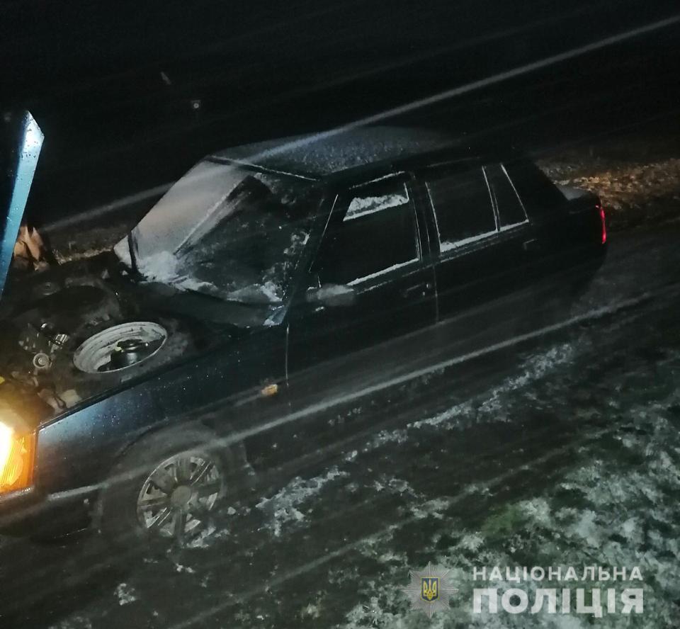 Житель Харьковщины украл автомобиль (фото)