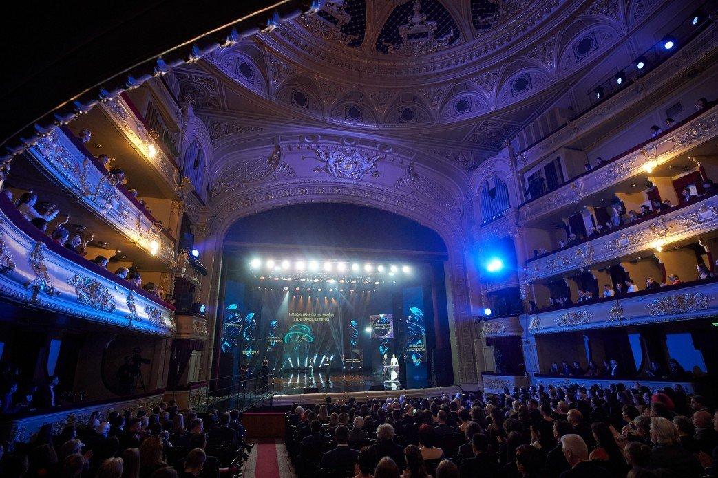 Прошла церемония вручения Национальной премии имени Тараса Шевченко