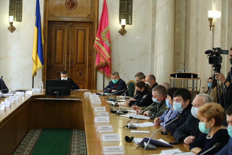 Карантин на территории Харьковской области продлили до 24 апреля – облкомиссия по ЧС
