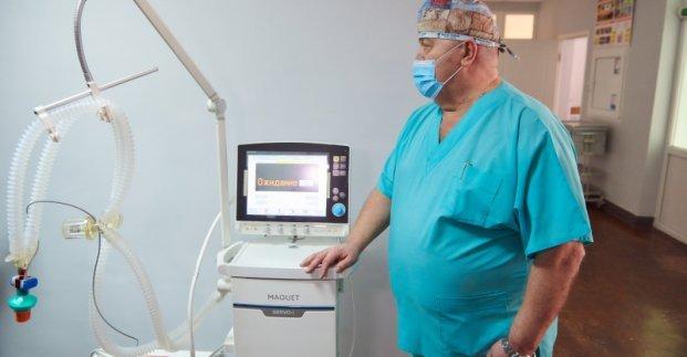 Новый аппарат ИВЛ заработал в 17-й больнице