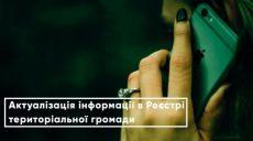 Харьковчане могут вносить изменения в реестре территориальной громады онлайн