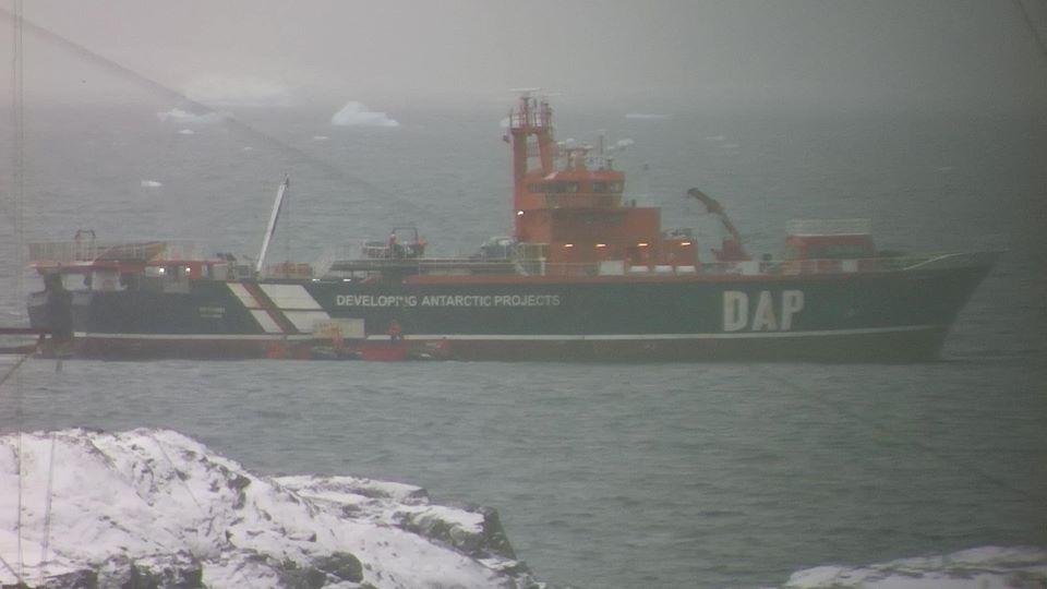"""25 арктична експедиція дісталася до станції """"Академік Вернадський"""""""