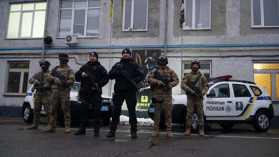 """Рота полиции """"Восток"""" отметила 6-летнюю годовщину создания"""