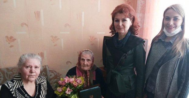 100-летний юбилей отметила жительница Харькова