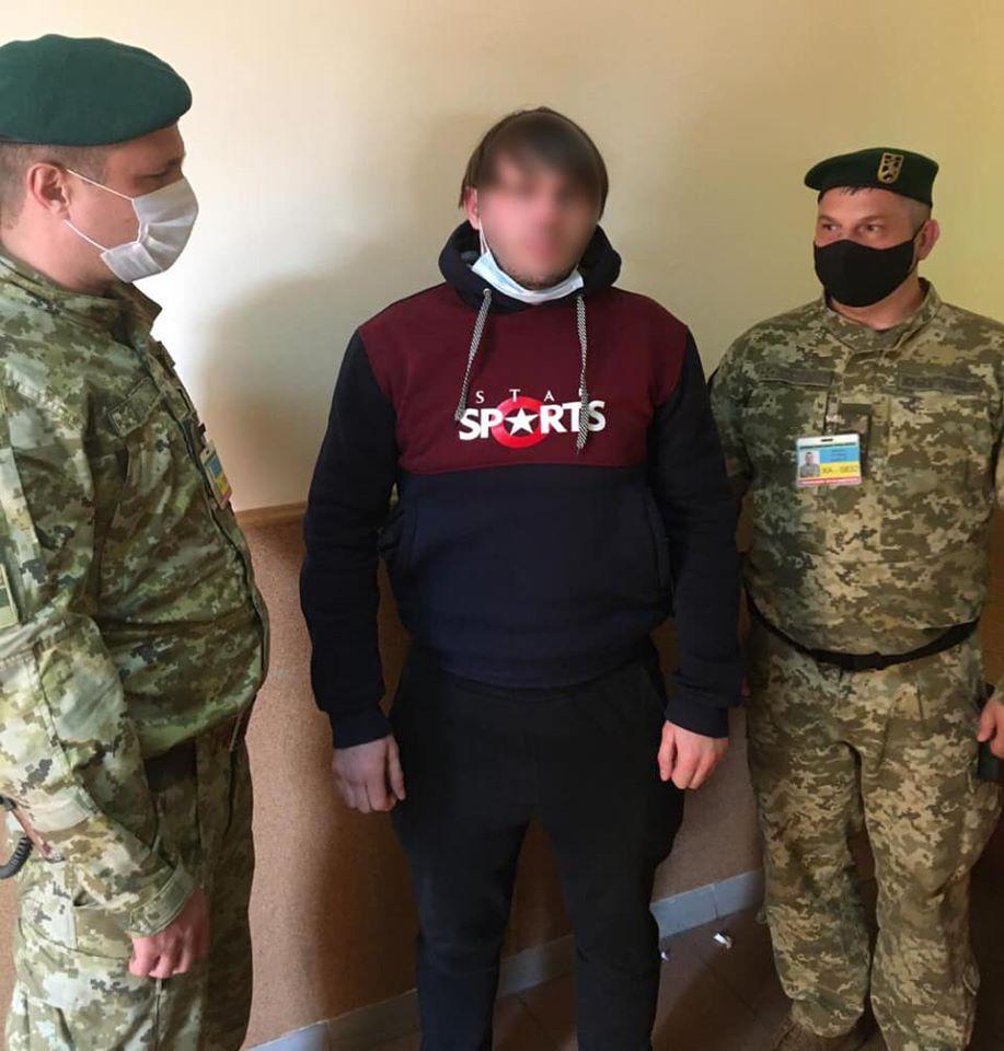 Харьковские пограничники задержали гражданина, разыскиваемого за кражу