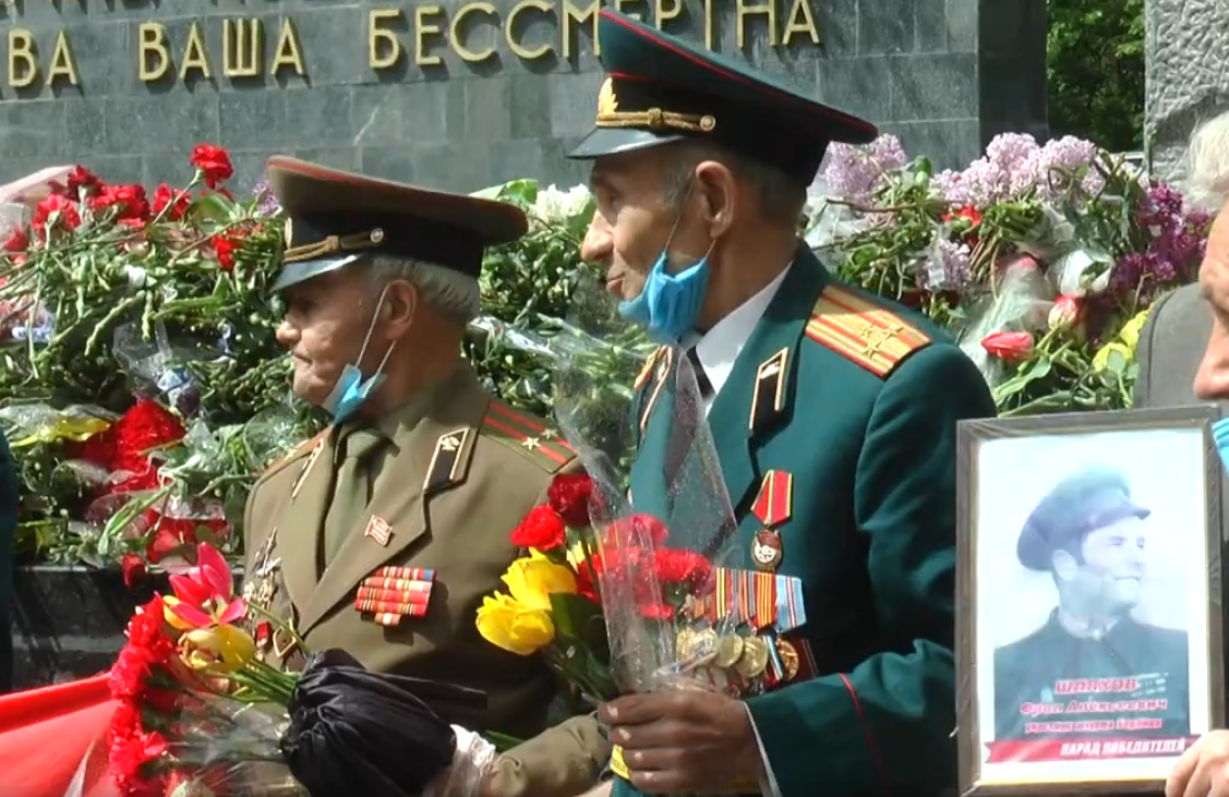 У Харкові вшанували пам'ять загиблих у Другій світовій війні (відео)