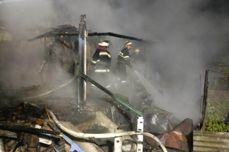Из-за пожара в Харьковской области погиб человек (фото)