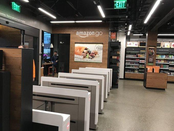 Перший безкасовий супермаркет