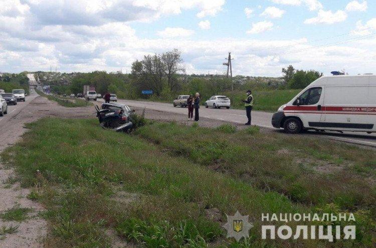 Из-за ДТП в Харьковском районе пострадали дети
