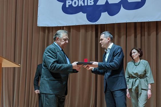 Алексей Кучер поздравил Харьковский авиационный институт с юбилеем (фото)