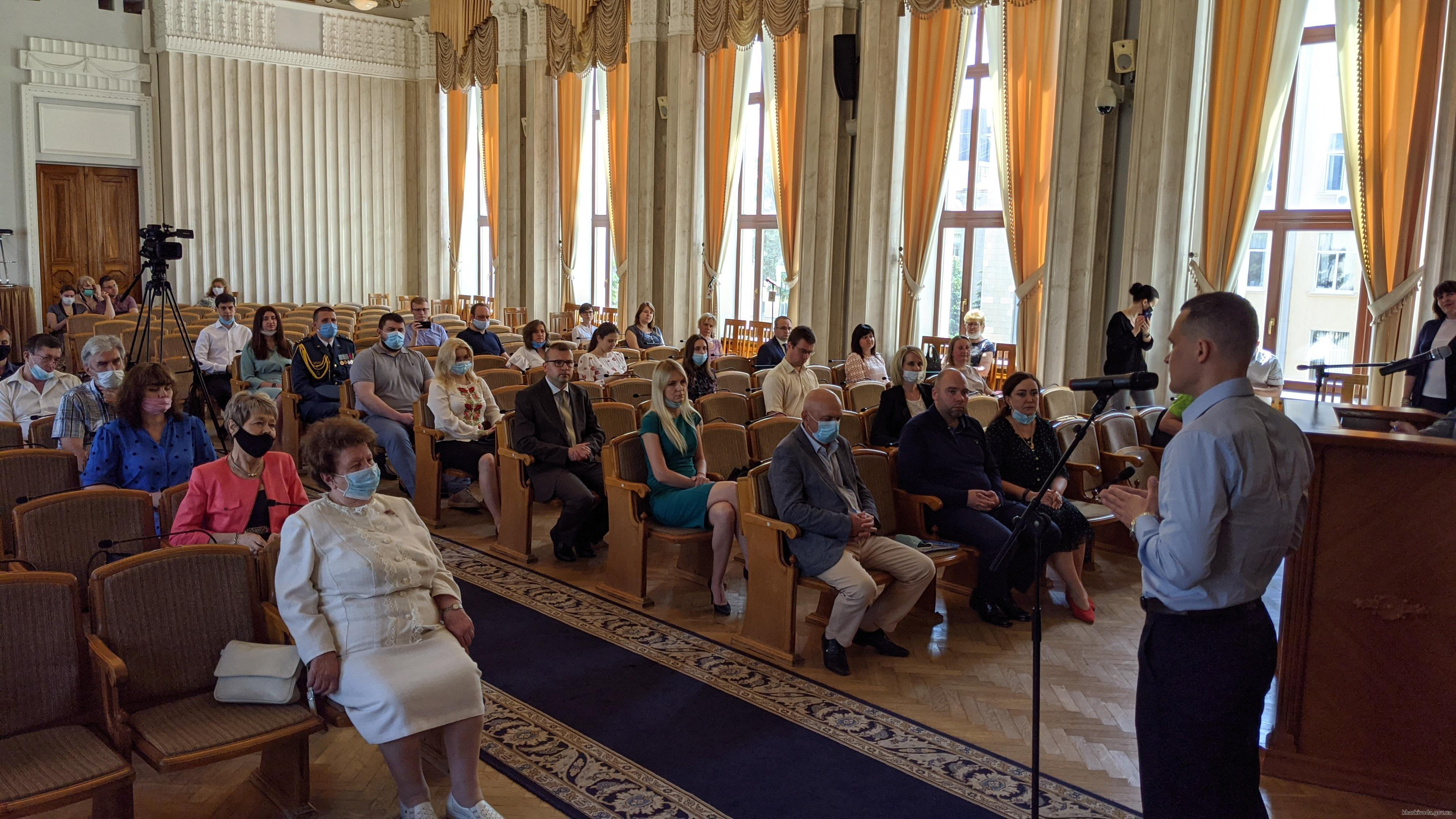 40 харьковских ученых получили именные областные стипендии