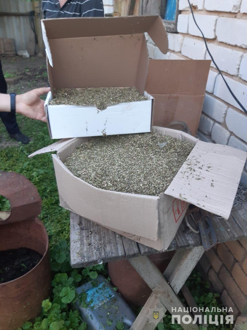 Мужчина на Харьковщине продал 200 грамм каннабиса за 5 тыс. гривен (фото)