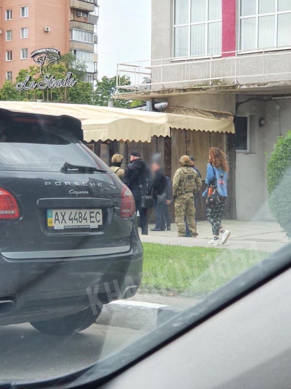 В Харькове задержаны «торговцы» должностью губернатора Харьковской области (видео, фото)