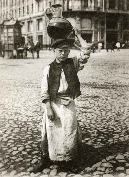 Продавец лимонада, Москва. Фото из открытых источников