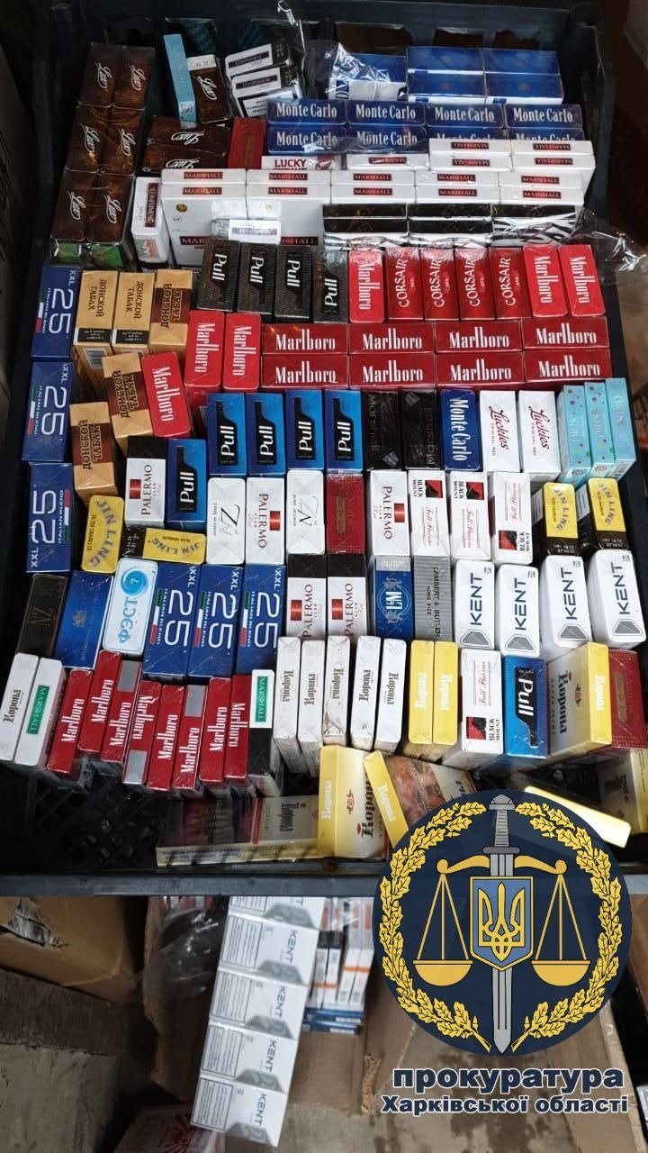 В Харькове задержана партия контрафактных сигарет (фото)