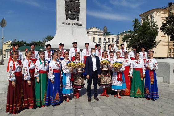 На Харьковщине отмечают День Конституции Украины