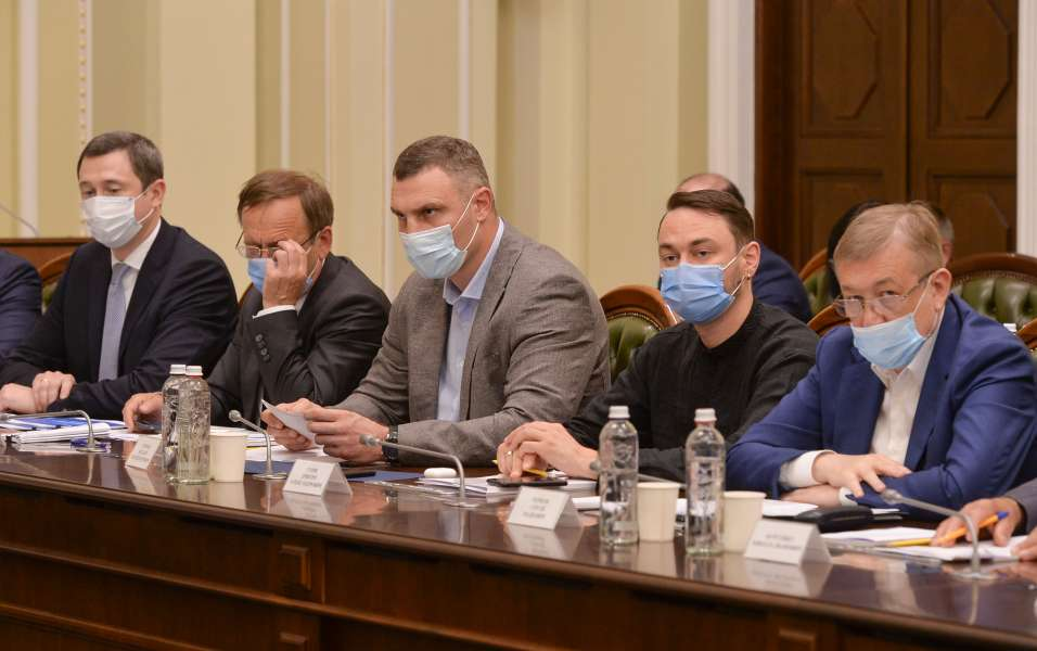 Представители местного самоуправления обсудили со спикером ВРУ проблемные вопросы