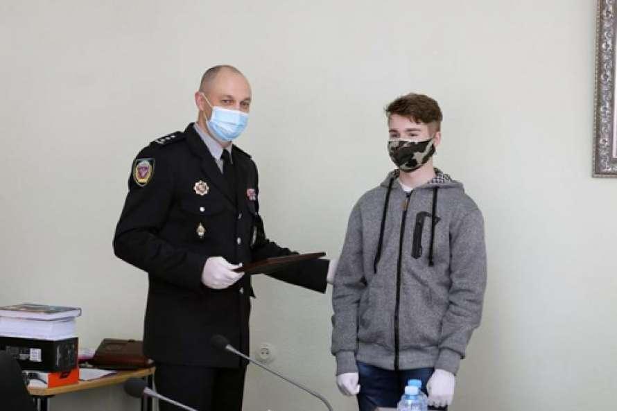 В Харькове наградили победителя олимпиады «Юный киберэрудит»