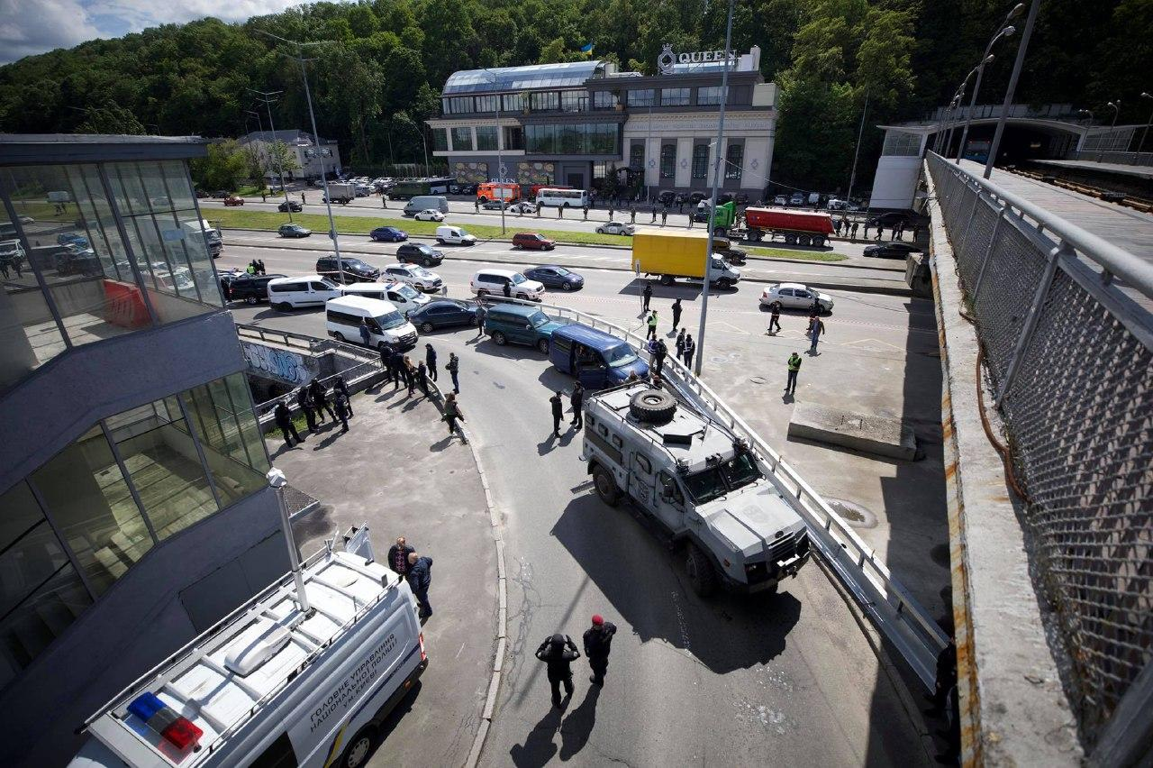 Минеру моста Метро в Киеве избрали меру пресечения