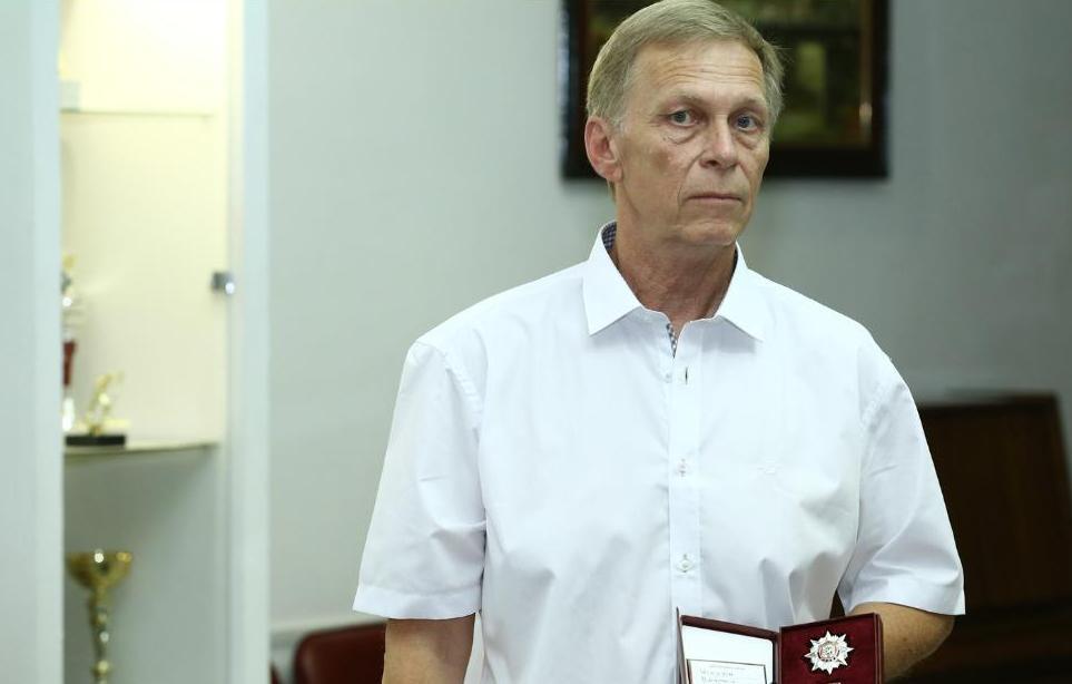 Харьковский тренер по тяжелой атлетике награжден «Слобожанской славой»