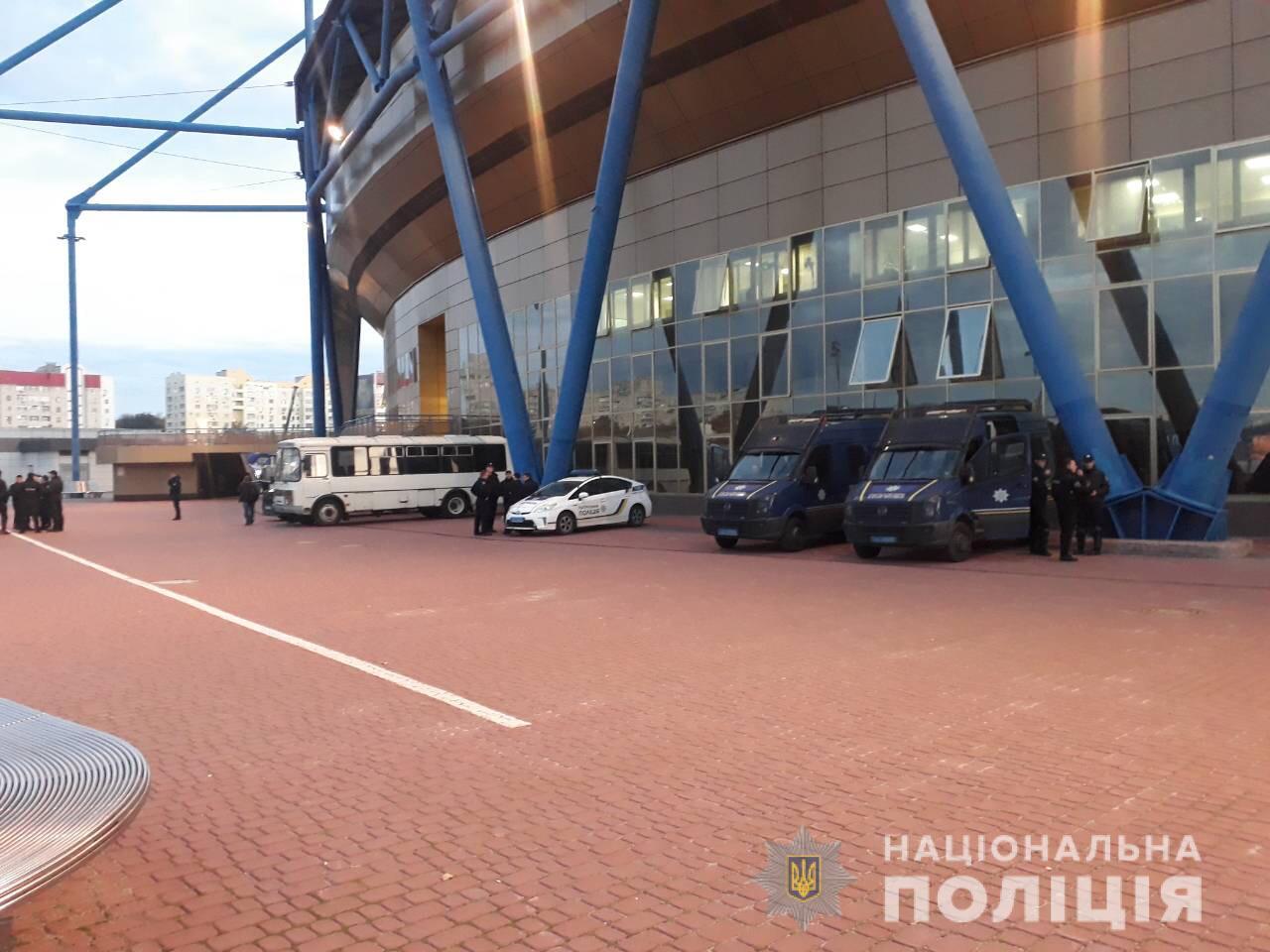 Футбольный матч в Харькове прошел без грубых правонарушений