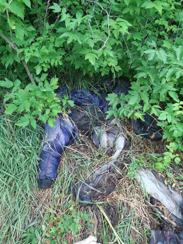 На Харьковщине найдены останки мужчины