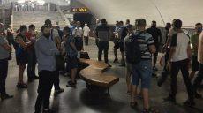Сотрудники Харьковского метрополитена публично потребовали погасить им долги по зарплате
