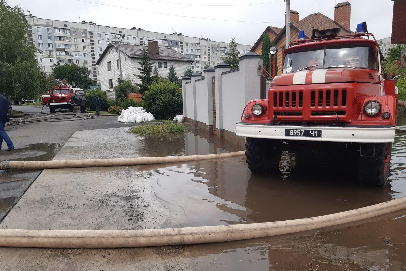 В Харькове выпало рекордное количество осадков за сутки (фото)