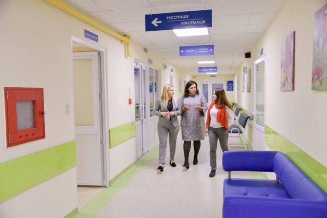 В 12 районных больницахХарьковской области отремонтируют приемные отделения