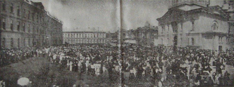 Богослужение в Харькове по другому поводу и несколько лет спустя – о даровании победы в войне с германцами.