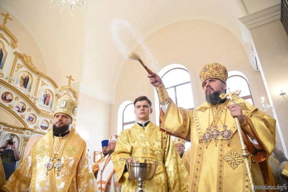 В Чугуевском районе митрополит Епифаний принял участие в закладке капсулы храма св. Петра и Павла