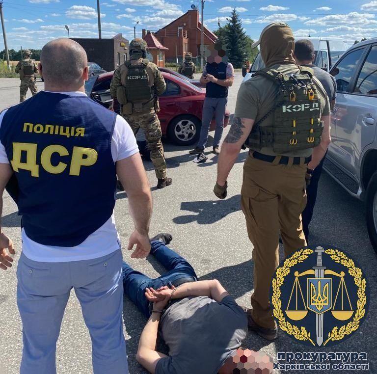На Харьковщине похитили человека и требовали 20 тыс. долларов за освобождение (фото)