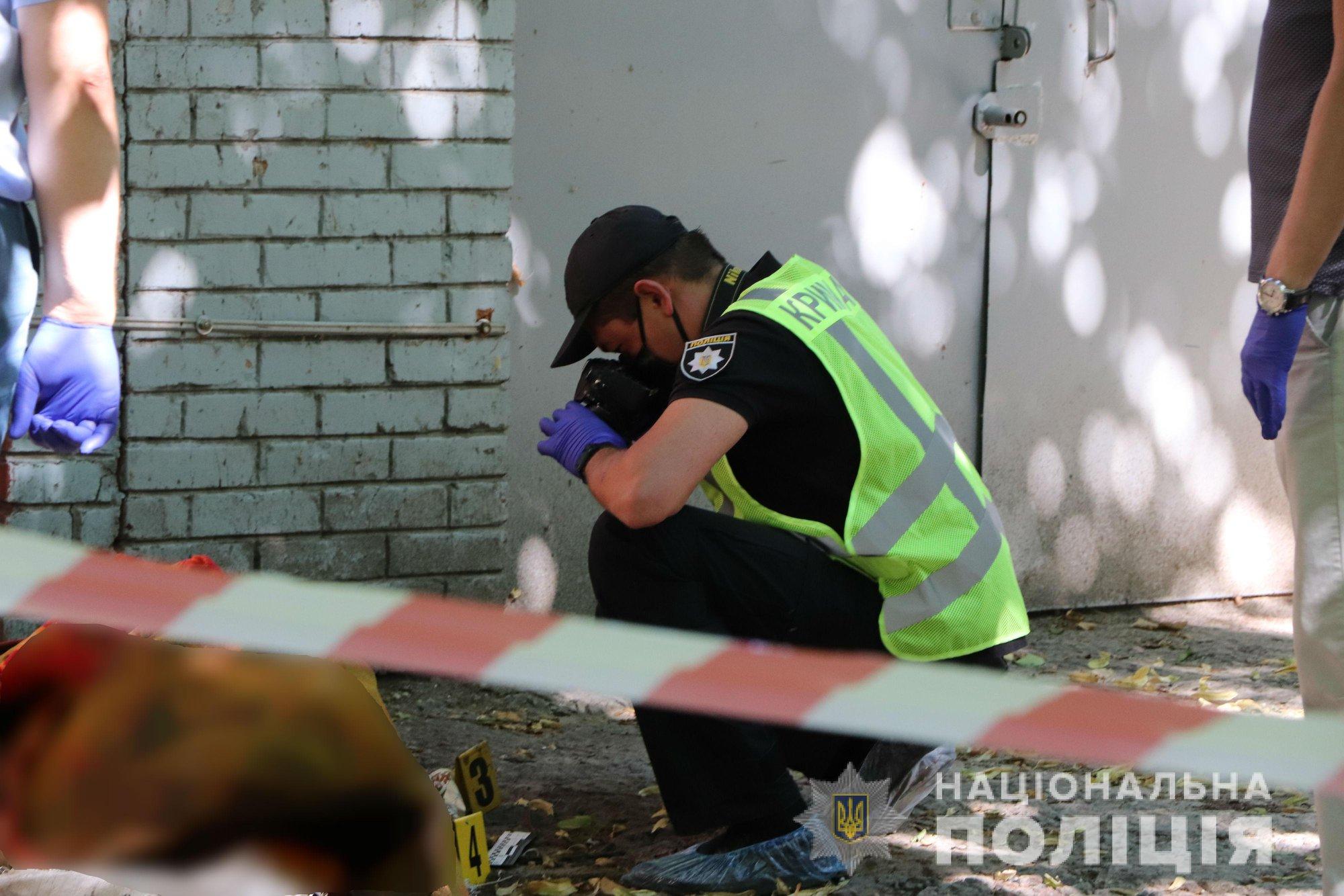 В Харькове найден труп человека, завернутый в ковер (фото)