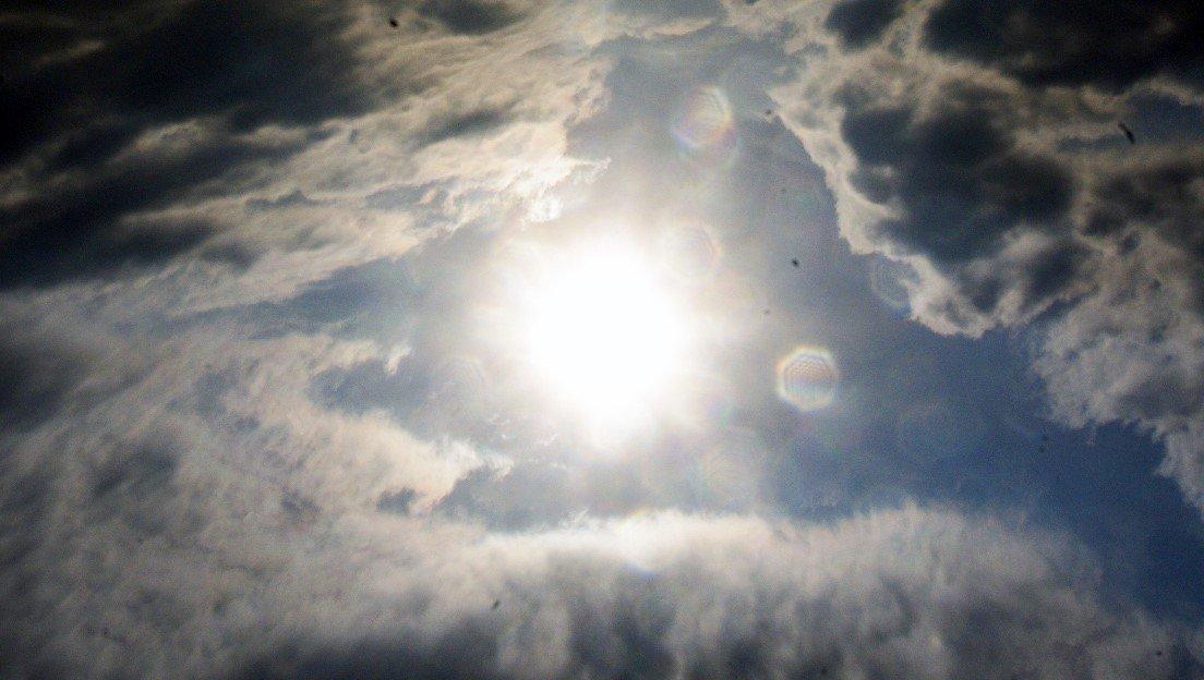 Солнечная активность падает