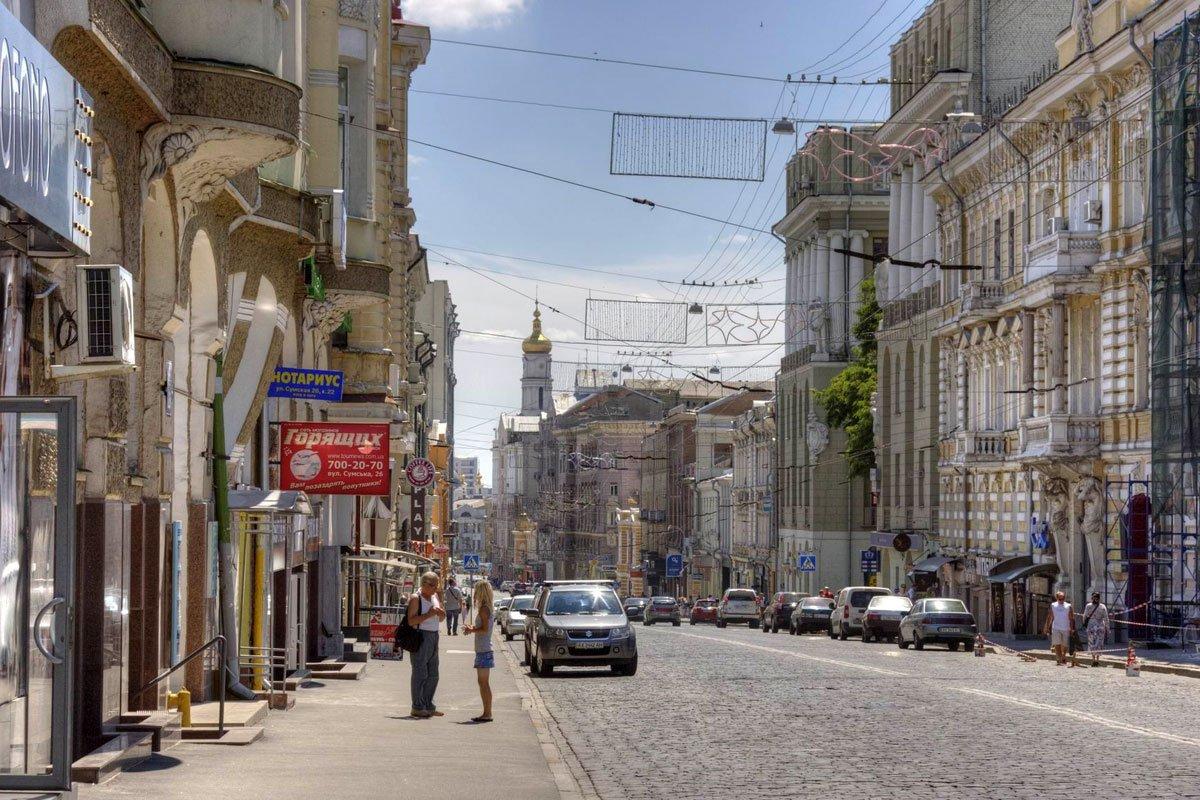 Харьковчане просят городские власти сделать пешеходной улицу Сумскую