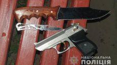 Харьковчанин пытался застрелить себя и полицейских