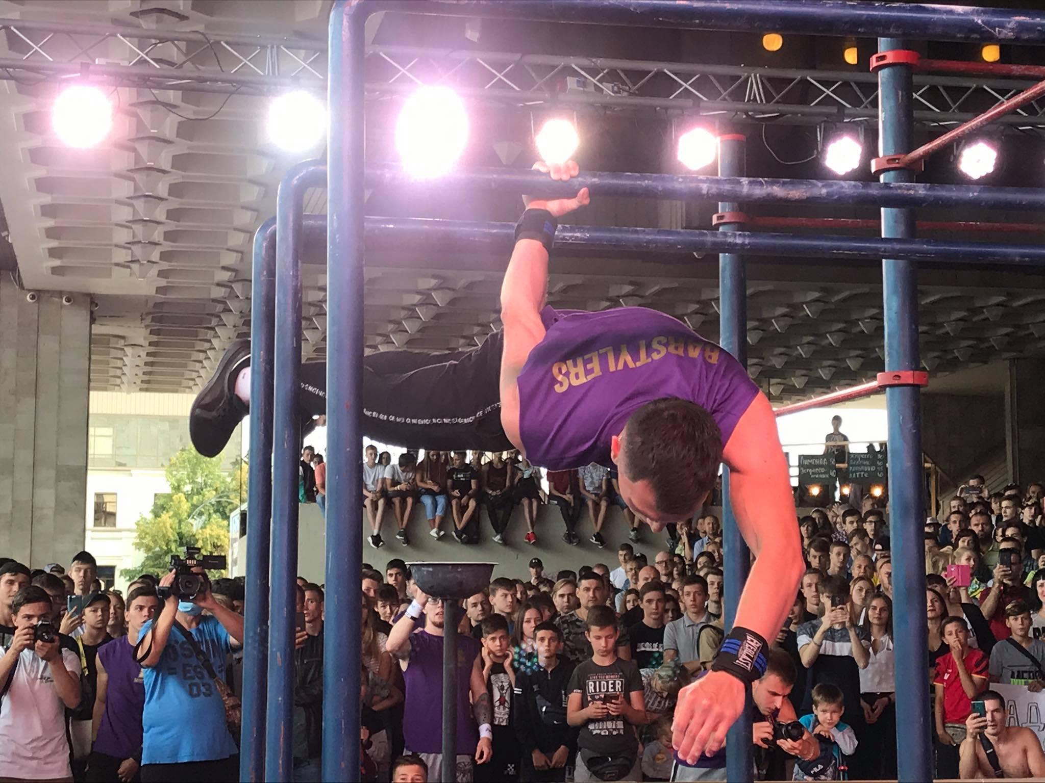 У Харкові пройшов чемпіонат України зі Street Workout (фоторепортаж)