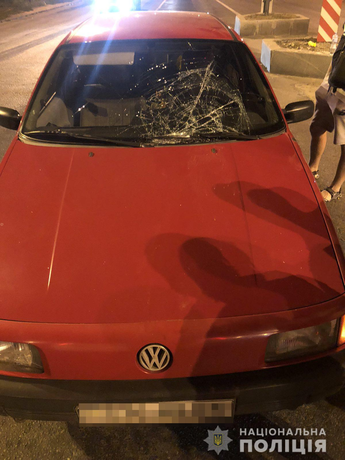 В Харькове автомобиль сбил пешехода – ищут свидетелей (фото)