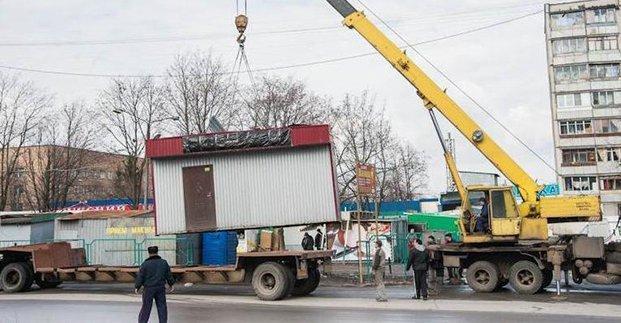 В Харькове демонтировали более тысячи незаконных МАФов, гаражей и киосков