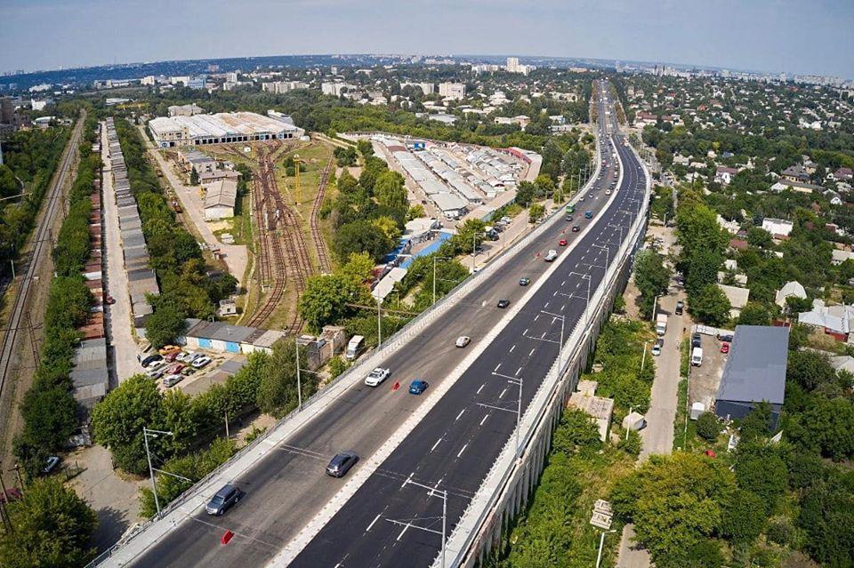 Вторая полоса Коммунального моста будет полностью закончена в начале сентября