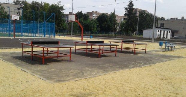Школьный стадион построят в Киевском районе Харькова