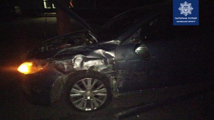 В Харькове столкнулись Mitsubishi и Mazda
