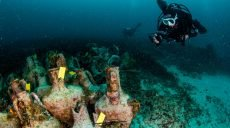 Музей под водой: в Греции можно вблизи рассмотреть корабль, затонувший в 5 веке до н. э