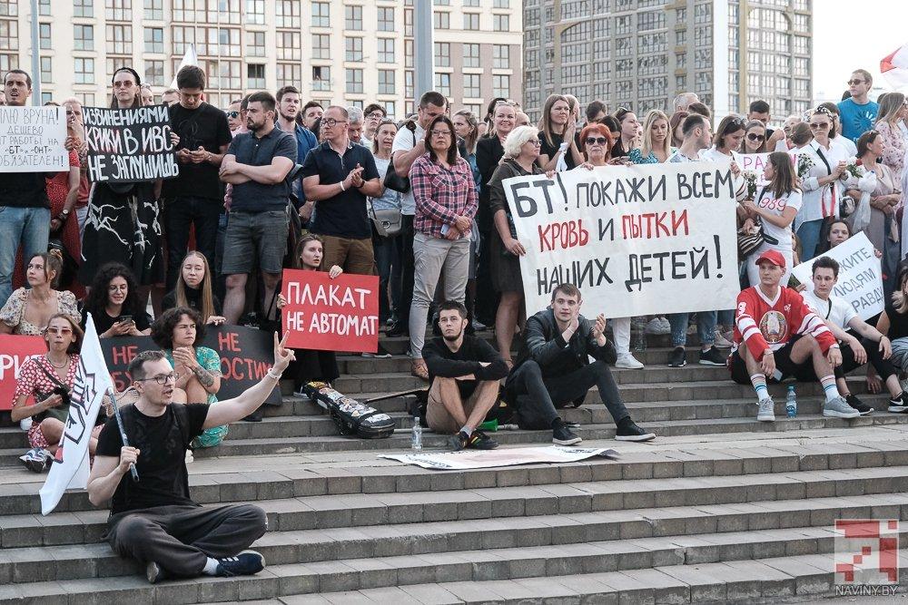 Отказавшихся заниматься пропагандой журналистов госканала Беларуси заменили россиянами